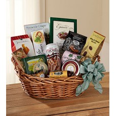 The FTD Heartfelt Sympathies Gourmet Basket