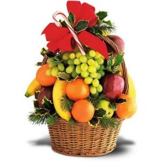 Christmas Tower of Fruit Basket