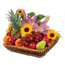 Blooming Seasonal Fruits Tray
