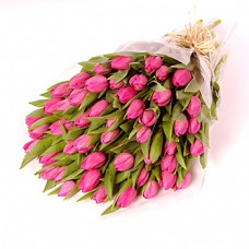 Bouquet of 10 Stems Pink Tulips
