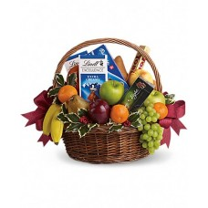 Fruits & Sweets Christmas Gourmet Basket
