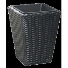 Black Finished Office Basket