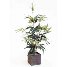 "20"" Potted Bamboo Bush - Artificial"