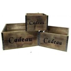 """Cadeau"""" Wood Boxes"""