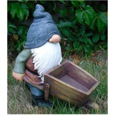 Gnome With a Wheelbarrow