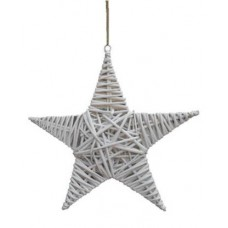 White Willow Hanging Star