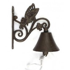 Cast Iron Butterfly Door Bell