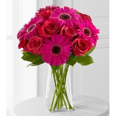 Adrenaline Blush Bouquet - VASE INCLUDED