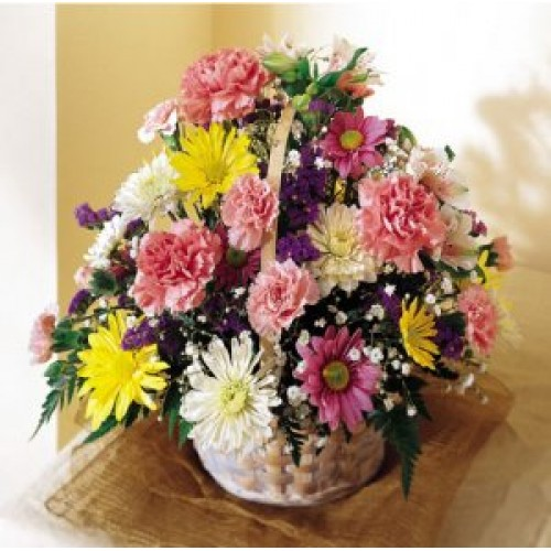 Basket of Cheer - By Flower Shop
