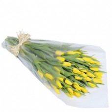 Bouquet of 10 Stems Yellow Tulips