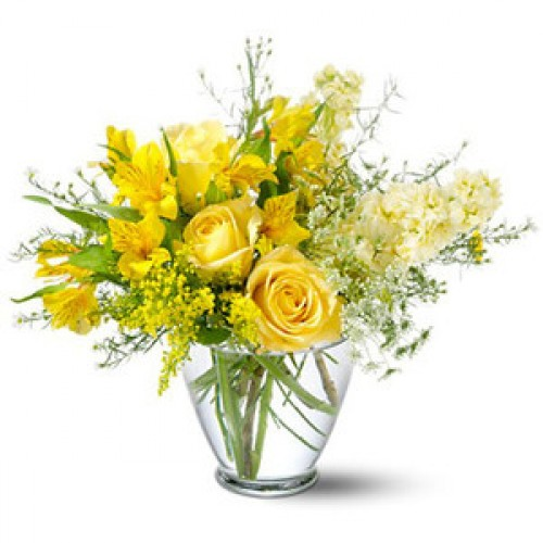 Delicate Yellow Flowers