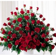 Marvelous Red Rose Arrangement