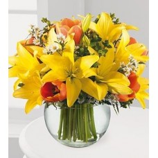 Summer Flowers with FREE Vase