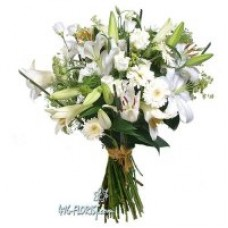 White Delight Flowers - by Flower Shop