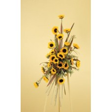 Eternal Sunshine Standing Spray - Condolences Flowers