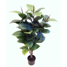 3' Rubber Plant - Artificial