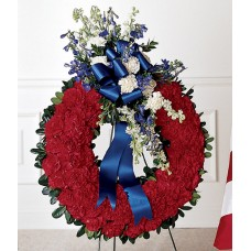 All American Tribute Wreath