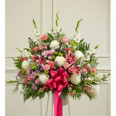 All Things Floral Basket Arrangement