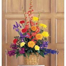 Basket of Faith - Tribute Flowers