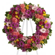 Bright Summery Wreath