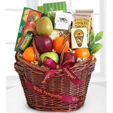 Caring Kindness Gourmet Fruit Basket