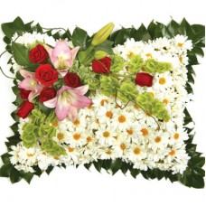 Chrysanthemum Pillow - Condolences Flowers
