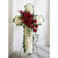 Floral Catholic Cross