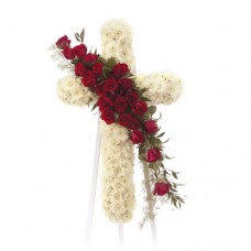 Holy Cross Funeral Flowers Spray