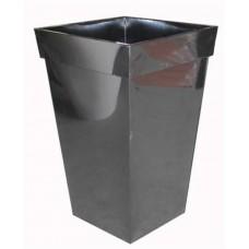Black Square zinc Planter
