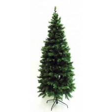 10' Slim Pre-Lit Greenwood Tree - Artificial