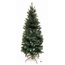 7' Slim Pre-Lit Avon Pine Tree Artificial