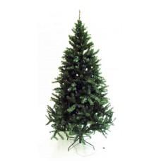 7' Pre-Lit Spruce Tree - Artificial
