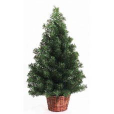 "36"" Pine Wall Tree - Artificial"