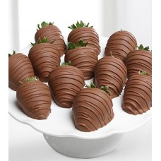 Strawberries Covered Milk Chocolate